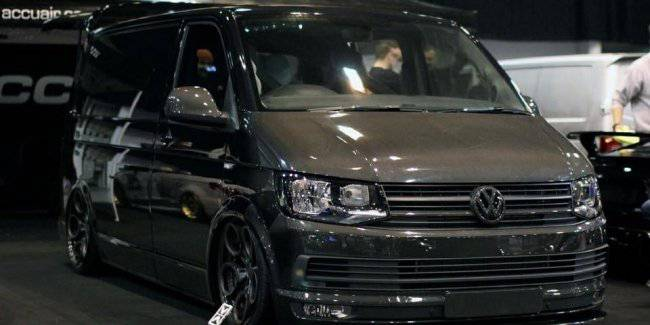 The most incredible tuning Volkswagen T6
