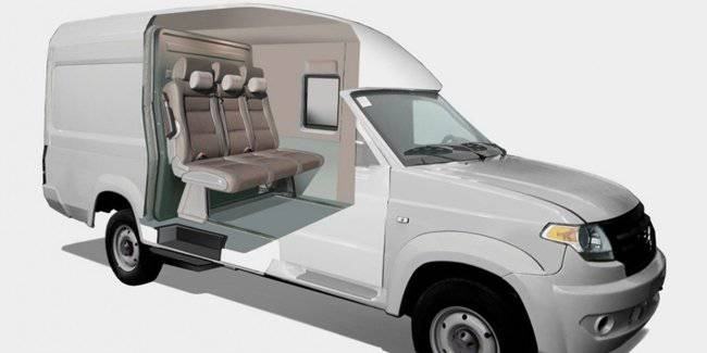 UAZ is preparing to release budget family SUV