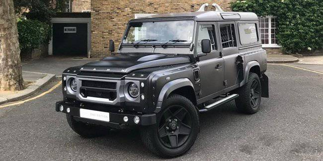 """Land Rover Defender received a """"farewell"""" version called """"End Edition"""""""