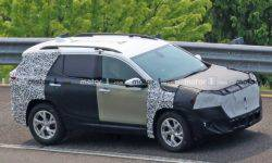 An updated version of the crossover GMC Terrain has caught on tests