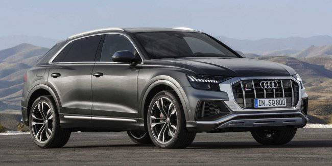 Audi introduced a charged version of the coupe-crossover Q8