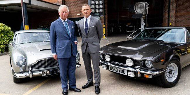 Aston Martin said about cars for the new film about James bond