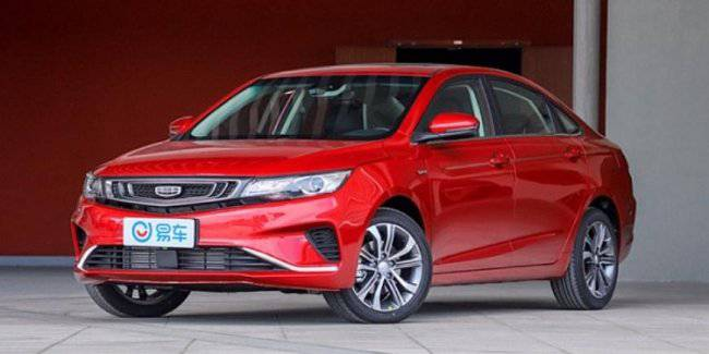 Geely introduced on the home market, the updated sedan Emgrand GL