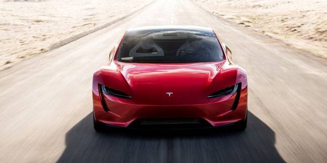 Tesla Roadster on all indicators surpass Ferrari, Lamborghini and McLaren