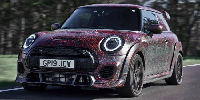 MINI has revealed the fastest hatchback in its history