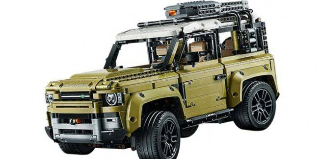 Lego has announced the debut of the new Land Rover Defender designer