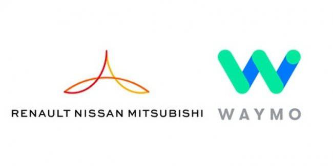 Nissan and Renault signed with Waymo exclusive contract with development services to unmanned vehicles