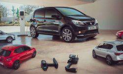 SEAT has introduced its first electric model