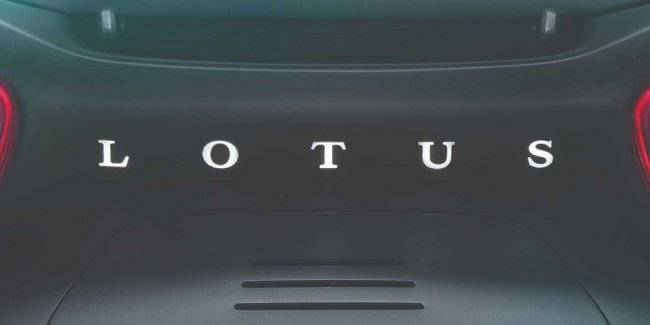 Lotus started tests of the first crossover