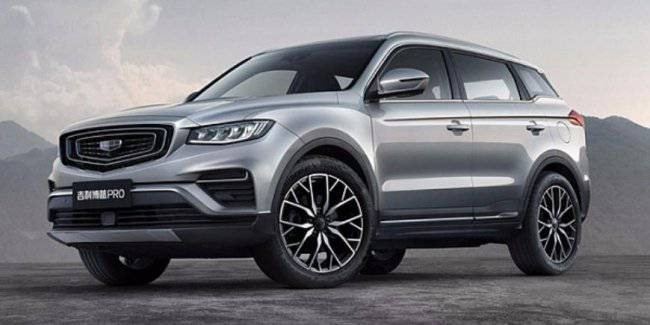 Geely revealed the Atlas Pro crossover with a new design