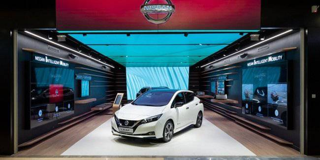 Nissan launched the project of virtual car sales City Hub