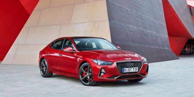 Officially announced the start of sales of the new Genesis G70