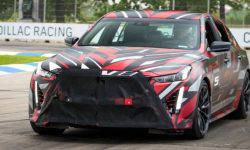 Cadillac is preparing an even more powerful version of the sedan CT4-CT5 V and-V