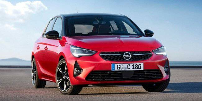 Opel told about the engine range for the updated Corsa hatchback