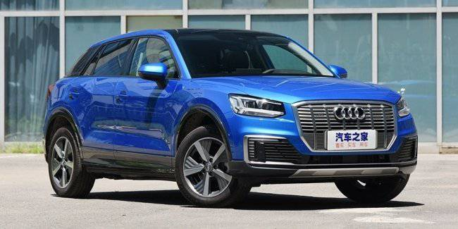 Audi has released an electric version of the smallest SUV Q2