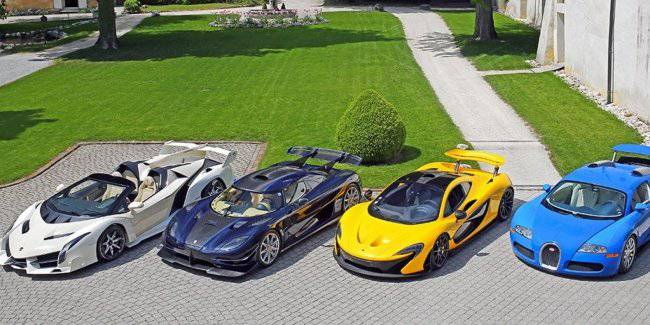 Confiscated hypercar the President's son will go under the hammer