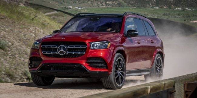 The S-Class among SUVs. First test drive of the new Mercedes-Benz GLS