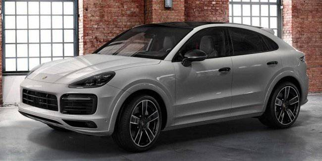 Kupeobrazny crossover Porsche Cayenne Coupe has received factory tuning