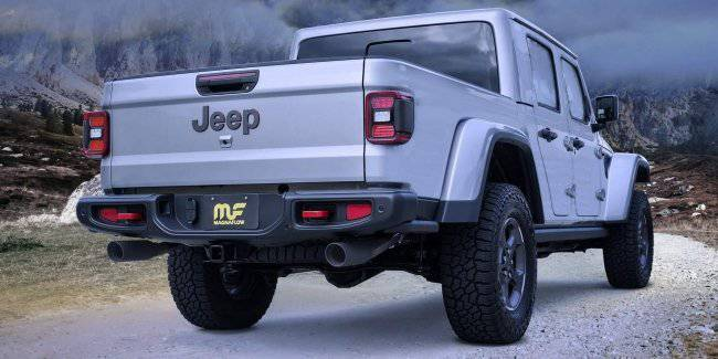 Jeep Gladiator shows off new exhaust system