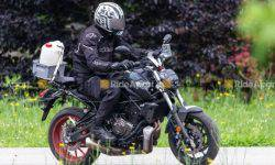 Updated Yamaha MT-07 noticed on tests