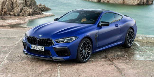 BMW has officially unveiled the long-awaited M8