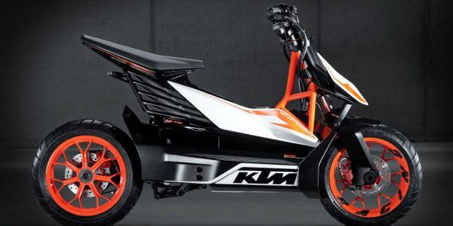 KTM and Bajaj are preparing a new modular two-wheeled platform with electric drive