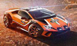 Lamborghini Huracan crossed with crossover Urus