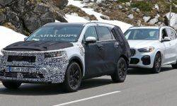 New KIA Sorento compared with the BMW X5 during the road test