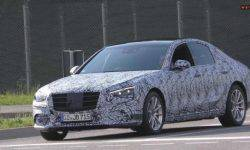 Journalists captured a prototype of a new Mercedes-Benz S-class