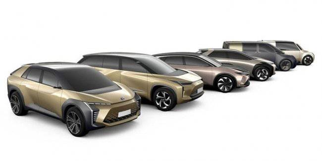 Toyota has expanded the plans for the electrification of six global models