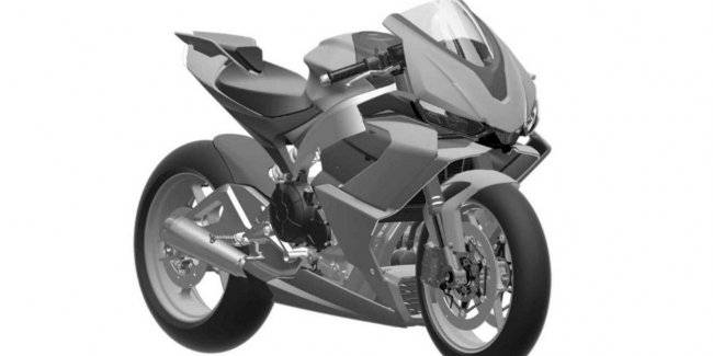 Aprilia has patented the design of a serial motorcycle