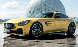 The Germans introduced the upgraded supercar Mercedes-AMG GT R