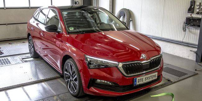 """Skoda Scala will receive the """"charged"""" version"""