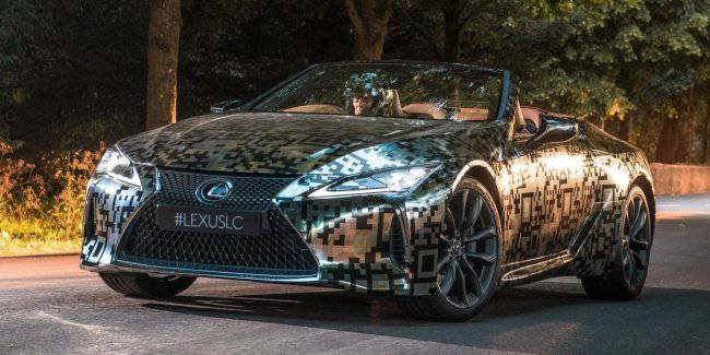 Lexus will introduce a convertible Convertibly LC by 2020