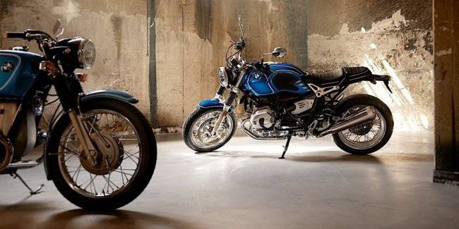 BMW Motorrad has unveiled a special model the BMW R nineT /5