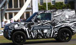New Land Rover Defender revealed at Goodwood