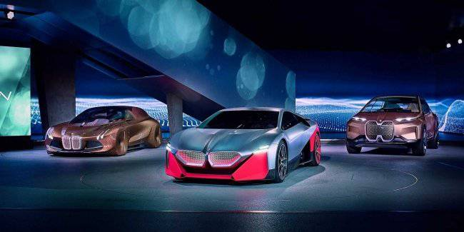 BMW will release the Vision M Next instead of the new i3 and i8
