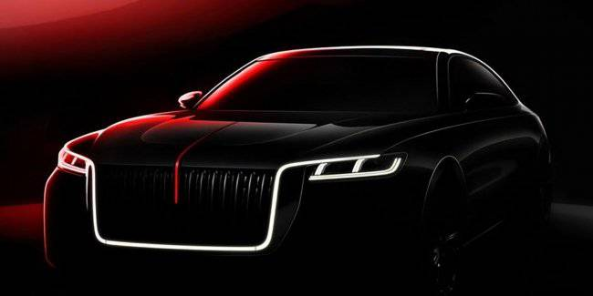 Chinese Hongqi H7 will receive the design in the style of Rolls-Royce