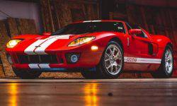 The iconic Ford GT with incredibly little mileage put on sale