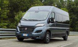 Fiat showed an updated Fiat Ducato MY2020