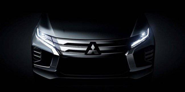 The new generation Mitsubishi Pajero Sport declassified before the official debut