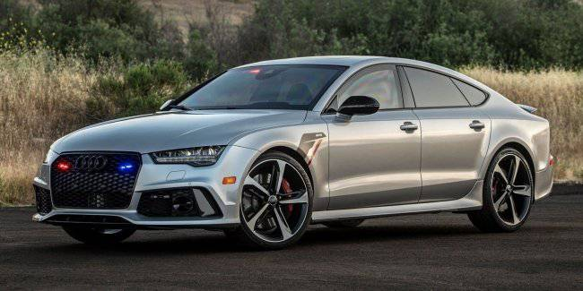 """""""Charged"""" hatchback Audi RS7 has got the armor and 771 HP engine"""