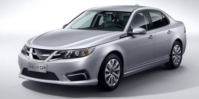 In China started production of electric vehicles on the basis of the Saab 9-3