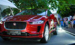 Jaguar introduced the electric car I-PACE at the Jazz Fest in Lviv