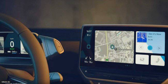 In the network appeared the photo of the interior of the future electro hatchback costs VW ID.3
