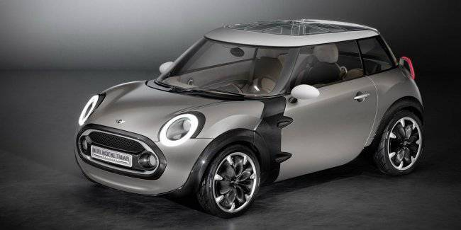 MINI will develop the electric car on motives of concept Rocketman