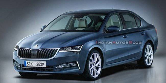 Skoda Octavia next generation appeared on the new images