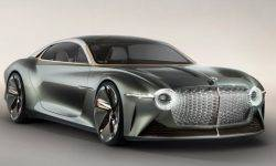 Bentley has developed 1340-a powerful concept car with autopilot and a digital assistant in the salon
