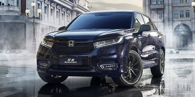 In China a new competitor for the BMW X4 from Honda