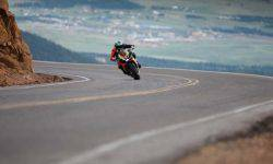 The new king: set a record on Pikes Peak